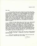 Letter from Linda Grace Hoyer to John Updike, January 8, 1951