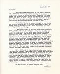 Letter from Linda Grace Hoyer to John Updike, January 19, 1951