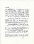 Letter from Linda Grace Hoyer to John Updike, January 24, 1951