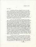 Letter from Linda Grace Hoyer to John Updike, January 25, 1951