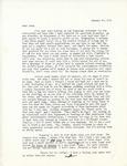 Letter from Linda Grace Hoyer to John Updike, January 30, 1951