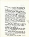 Letter from Linda Grace Hoyer to John Updike, February 19, 1951