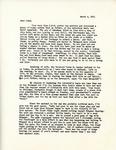 Letter from Linda Grace Hoyer to John Updike, March 4, 1951 by Linda Grace Hoyer