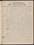 The Independent, V. 24, Thursday, November 8, 1900, [Whole Number: 1323] by The Independent
