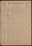 The Independent, V. 33, Thursday, October 31, 1907, [Whole Number: 1686]