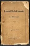 Friedrich Wilhelm Krummacher: Eine Selbstbiographie by Friedrich Wilhelm Krummacher