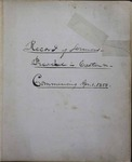 Record of Sermons Preached in Easton, Pennsylvania, etc., Commencing April 1, 1850