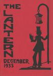 The Lantern Vol. 2, No. 1, December 1933