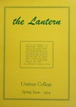 The Lantern Vol. 22, No. 2, March 1954