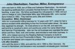 John Oberholtzer, Teacher, Miller, Entrepreneur by The Mill at Anselma