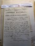 Letter to John Oberholtzer About School Savings Banks by Harry Sloyer