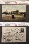 Hotel Brighton, Atlantic City, N.J.- Postcard From Sara to Vickers by Sara Louisa Oberholtzer