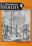Pennsylvania Folklife Vol. 19, No. 1