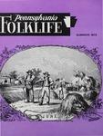 Pennsylvania Folklife Vol. 21, No. 4