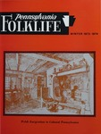 Pennsylvania Folklife Vol. 23, No. 2