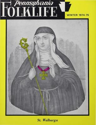 Pennsylvania Folklife Vol. 24, No. 4