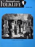 Pennsylvania Folklife Vol. 24, No. 3