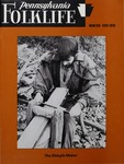 Pennsylvania Folklife Vol. 25, No. 2