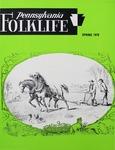 Pennsylvania Folklife Vol. 27, No. 3 by Don Yoder, Katherine Ann Jarrett, Janet Theophano, and Louis Winkler