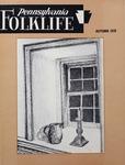 Pennsylvania Folklife Vol. 28, No. 1