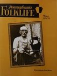 Pennsylvania Folklife Vol. 28, No. 2 by Nancy K. Wierman, Joyce Demcher Moran, Louis Winkler, Alvin F. Kemp, and Judith E. Fryer