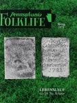 Pennsylvania Folklife Vol. 28, No. 3
