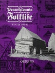 Pennsylvania Folklife Vol. 30, No. 2 by Robert F. Ensminger, Terry G. Jordan, Bryan J. Stevens, and William B. Fetterman