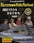 Pennsylvania Folklife Vol. 38, No. 4 by Ann S. Burrows, Ruthanne Hartung, Stuart Helble, Karen Helble, Frank J. Gallagher, Rae Greiner, William Dean Wright, Wayne Hartzell, Anne Hartzell, Teresa A. Skoog, Mark Osterman, Keith Brintzenhoff, Frederick J. Saul, Beth Kreider, and Richard Thomas