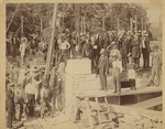 Laying the Cornerstone of Bomberger Hall, June 25, 1891 by S. R. Fisher