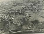 Southwest Facing Aerial View of Campus, Circa 1958