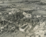 Northwest Facing Aerial View of Campus, Circa 1958