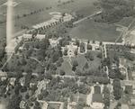 Aerial View of Ursinus College, Circa 1960