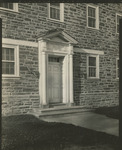 Curtis Dormitory Entrance, Circa 1930