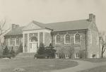 Pathway to Alumni Memorial Library, Circa 1936