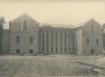 Rear View of Alumni Memorial Library Under Construction, Circa 1922