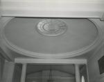 Ceiling Medallion in Alumni Memorial Library, 1950s