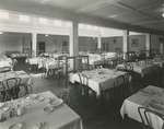 Tables in Upper Dining Room, Freeland Hall