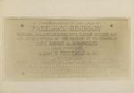 Freeland Seminary Memorial Plaque, 1915