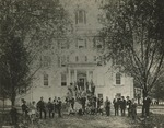 Freeland Seminary With Students, 1860s