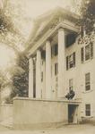 Freeland Hall Portico, Circa 1914