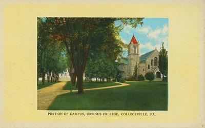 Portion of Campus, Ursinus College, Collegeville, PA.