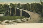 Perkiomen Bridge, Collegeville, Pa. / Built 1798 / Oldest Bridge in America