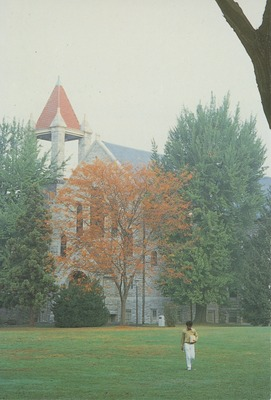 View of Bomberger Memorial Hall Facing Northwest
