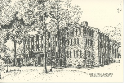 The Myrin Library, Ursinus College