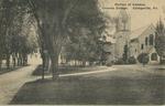 Portion of Campus. Ursinus College. Collegeville, Pa.