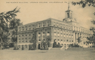 The Science Building. Ursinus College. Collegeville, PA.