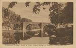 Perkiomen Bridge - Built in 1798, Oldest Bridge in America, Collegeville, Pa.