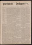Providence Independent, V. 2, No. 9, Thursday, August 10, 1876