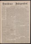 Providence Independent, V. 2, No. 11, Thursday, August 24, 1876
