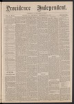 Providence Independent, V. 2, No. 14, Thursday, September 14, 1876